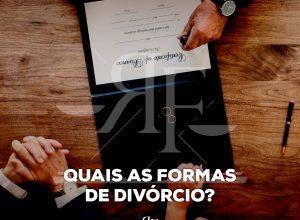 Quais as formas de divórcio?